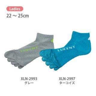 Ladies 5本指ソックス〔ショート〕 XLN299