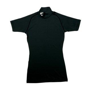 Uni インナーTシャツ〔ハイネック〕(ブラック) XLH5019