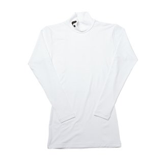 Uni 長袖インナーTシャツ〔ハイネック〕(ホワイト) XLH5020