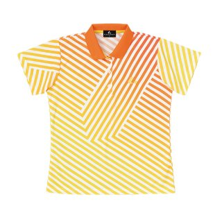 Ladies ゲームシャツ(オレンジ) XLP4932