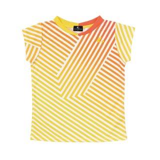 Ladies ゲームシャツ〔襟なし〕(オレンジ) XLH2292