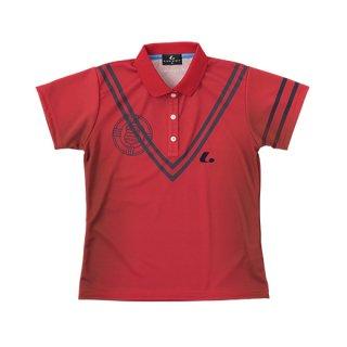 Ladies ゲームシャツ(レッド) XLP4861