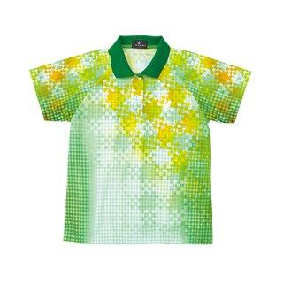 Ladies ゲームシャツ(グリーン) XLP4795
