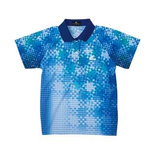 Ladies ゲームシャツ(ブルー) XLP4797