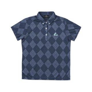 Ladies ゲームシャツ(ネイビー) XLP4996