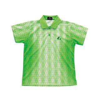 Ladies ゲームシャツ(パステルグリーン) XLP4645