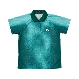 Ladies ゲームシャツ(グリーン) XLP4745