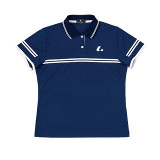 Ladies ゲームシャツ(ネイビー) XLP4966