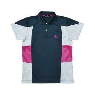 Ladies ゲームシャツ(ネイビー) XLP4766