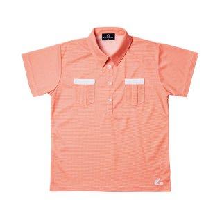 Ladies ゲームシャツ(オレンジ) XLP4712
