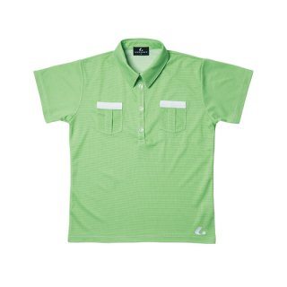 Ladies ゲームシャツ(グリーン) XLP4715