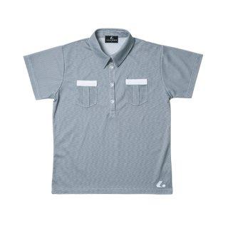 Ladies ゲームシャツ(ネイビー) XLP4716