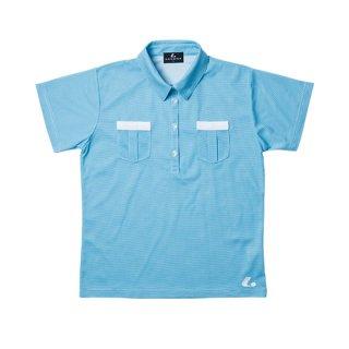 Ladies ゲームシャツ(ブルー) XLP4717