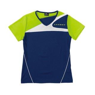 Ladies ゲームシャツ〔襟なし〕(ネイビー) XLH2256