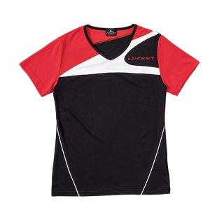 Ladies ゲームシャツ〔襟なし〕(ブラック) XLH2259
