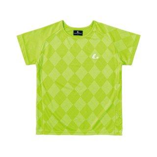 Ladies ゲームシャツ〔襟なし〕(ライム) XLH2275
