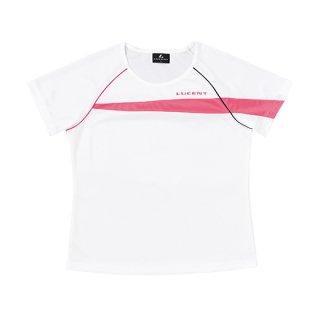 Ladies ゲームシャツ〔襟なし〕(ホワイト) XLH2310