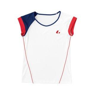 Ladies ゲームシャツ(襟なし)(ホワイト) XLH2280