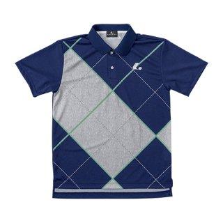 Uni ゲームシャツ(ネイビー) XLP8386