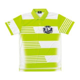 Uni ゲームシャツ(ライム) XLP8305