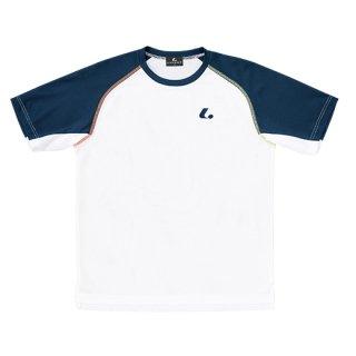 Uni ゲームシャツ〔襟なし〕(ホワイト) XLH3020