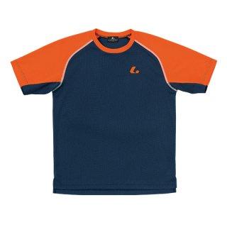 Uni ゲームシャツ〔襟なし〕(ネイビー) XLH3026