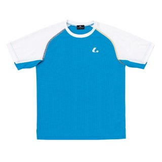 Uni ゲームシャツ〔襟なし〕(ブルー) XLH3027