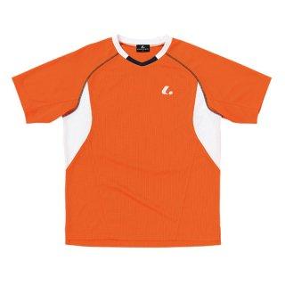 Uni ゲームシャツ〔襟なし〕(オレンジ) XLH3032