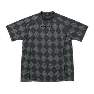 Uni ゲームシャツ〔襟なし〕(ブラック) XLH1989