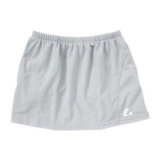 Ladies スカート〔インナースパッツ付〕(シルバーグレー) XLK1254