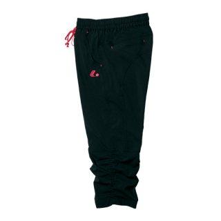 Ladies クロップドパンツ(ブラック) XLS3079