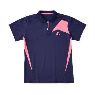 Ladies ゲームシャツ(ネイビー) XLP9016