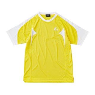 Uni ゲームシャツ〔襟なし〕(イエロー) XLH3083