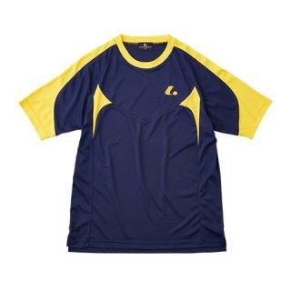 Uni ゲームシャツ〔襟なし〕(ネイビー) XLH3086