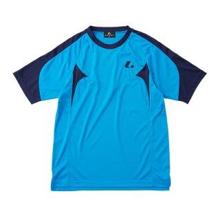 Uni ゲームシャツ〔襟なし〕(ブルー) XLH3087