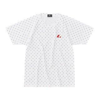 Uni ゲームシャツ〔襟なし〕(ホワイト) XLH3110
