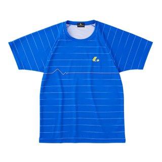 Uni ゲームシャツ〔襟なし〕(ウルトラマリン) XLH3127