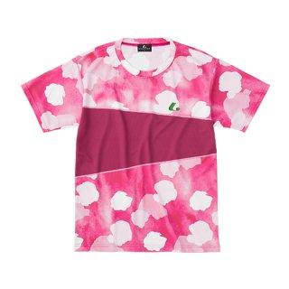 Uni ゲームシャツ〔襟なし〕(ピンク) XLH3161