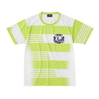 Uni ゲームシャツ〔襟なし〕(ライム) XLH3185
