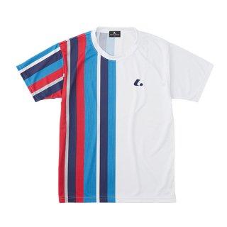 Uni ゲームシャツ〔襟なし〕(ホワイト) XLH3210
