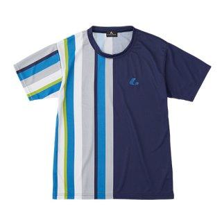 Uni ゲームシャツ〔襟なし〕(ネイビー) XLH3216