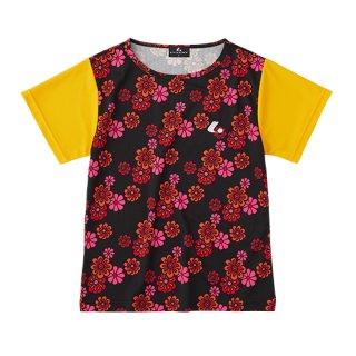 Ladies ゲームシャツ〔襟なし〕(オレンジ) XLH2392