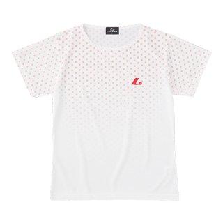 Ladies ゲームシャツ〔襟なし〕(ライトピンク) XLH2431