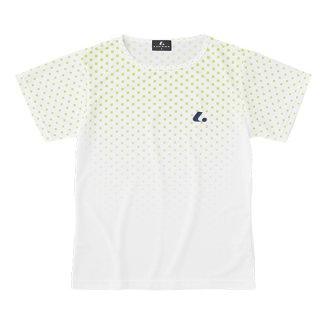 Ladies ゲームシャツ〔襟なし〕(ライム) XLH2435