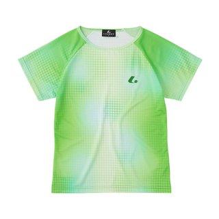 Ladies ゲームシャツ〔襟なし〕(パステルグリーン) XLH2365