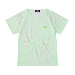 Ladies ゲームシャツ〔襟なし〕(パステルグリーン) XLH2385