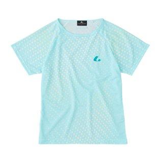 Ladies ゲームシャツ〔襟なし〕(パステルブルー) XLH2387