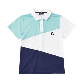 Ladies ゲームシャツ(スカイブルー) XLP9027
