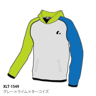 <img class='new_mark_img1' src='https://img.shop-pro.jp/img/new/icons6.gif' style='border:none;display:inline;margin:0px;padding:0px;width:auto;' />Uni クレイジーパーカー(グレー×ライム×ターコイズ) XLT1549
