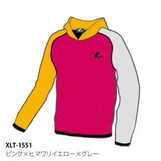 <img class='new_mark_img1' src='https://img.shop-pro.jp/img/new/icons6.gif' style='border:none;display:inline;margin:0px;padding:0px;width:auto;' />Uni クレイジーパーカー(ピンク×ヒマワリイエロー×グレー) XLT1551